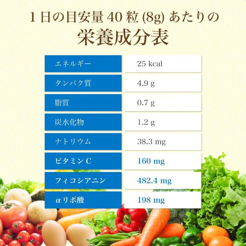 スピルリナ・α(アルファ)リポ酸 1200粒 ダイエットサプリ ポイント消化 健康食品 Spirulina sp100 14