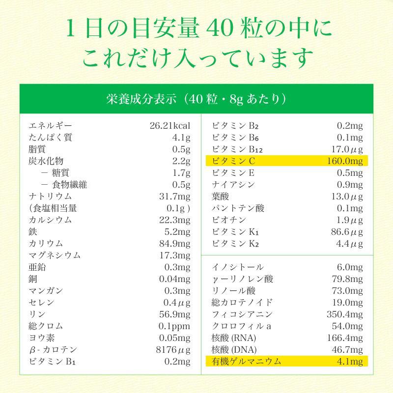 スピルリナ・ハトムギ1800粒 美容サプリ ポイント消化 健康食品 Spirulina|sp100|14