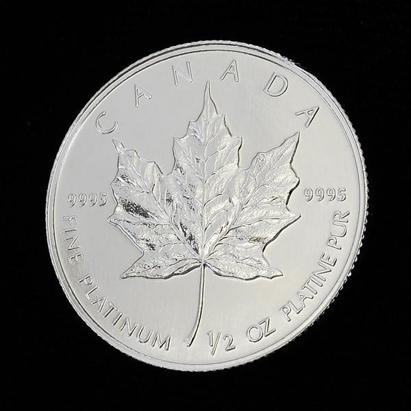 逆輸入 1994年製 メイプル プラチナコイン 1/2 オンス oz 白金 プラチナ コイン 99.99% 高品位 メープル メイプルリーフ osp, リュネメガネコンタクト 5cd05a50