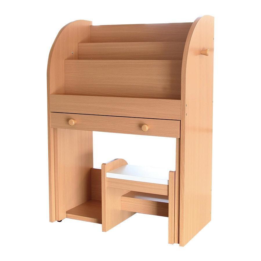 送料無料 EHON rack&desk -dire- -dire- ナチュラル ILR-3189NA【同梱・代引き不可】
