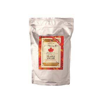 送料無料 ケベックメープルシュガー顆粒 2kg×6袋【同梱·代引き不可】