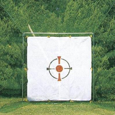 送料無料 ホームゴルフネット3号型セット ベクトランネット付【同梱・代引き不可】
