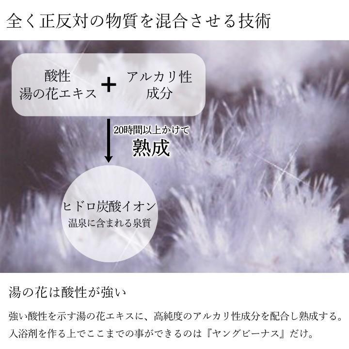 湯の花 入浴剤 別府温泉 ヤングビーナス にごり湯 5袋セット 送料無料 M-1N|spalabo|05