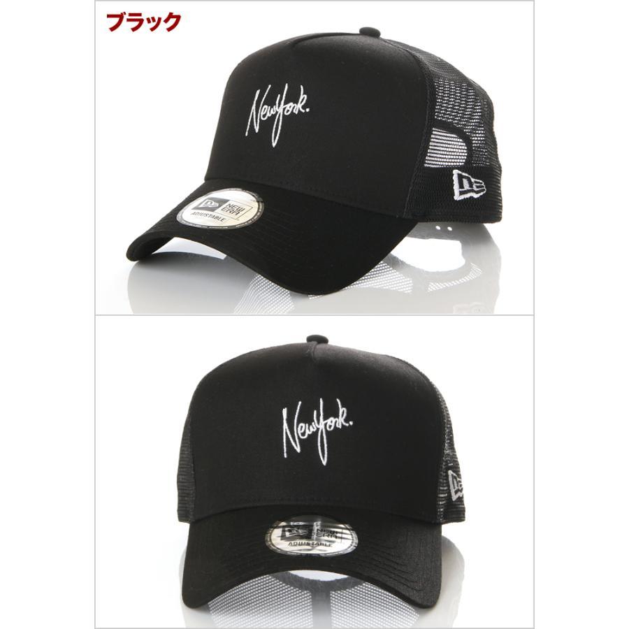 ニューエラ メッシュキャップ 帽子 メンズ レディース キャップ NEW ERA NY LA スナップバック CAP ニューヨーク ロサンゼルス ブランド 黒 紺 デニム 迷彩 白|spark|02