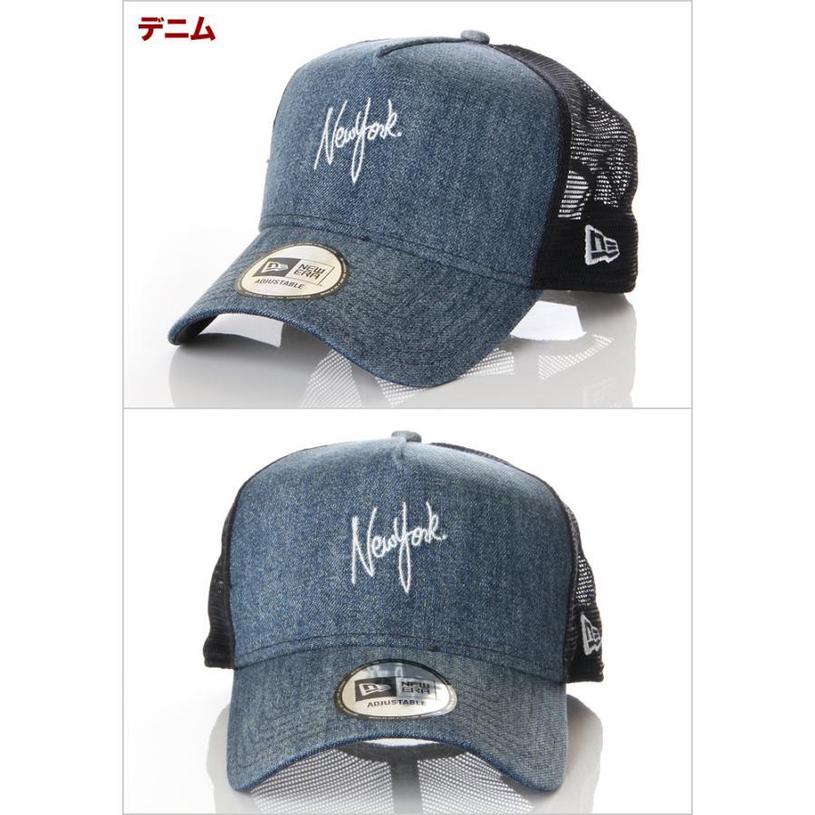ニューエラ メッシュキャップ 帽子 メンズ レディース キャップ NEW ERA NY LA スナップバック CAP ニューヨーク ロサンゼルス ブランド 黒 紺 デニム 迷彩 白|spark|03