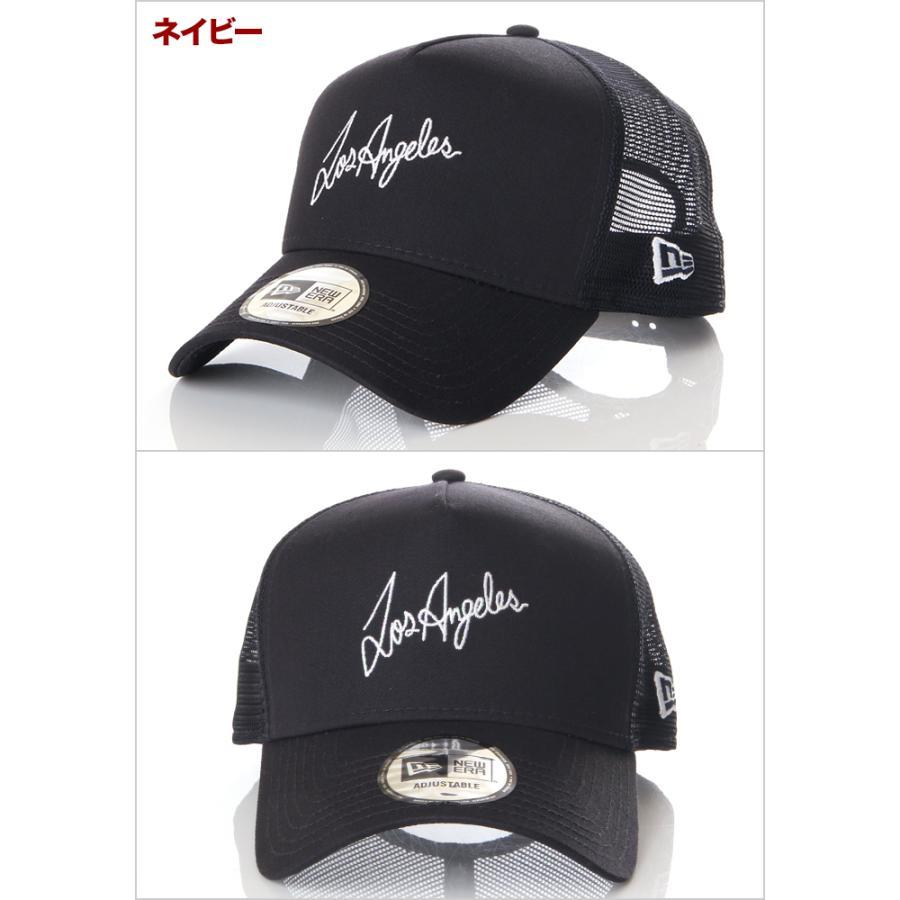 ニューエラ メッシュキャップ 帽子 メンズ レディース キャップ NEW ERA NY LA スナップバック CAP ニューヨーク ロサンゼルス ブランド 黒 紺 デニム 迷彩 白|spark|05