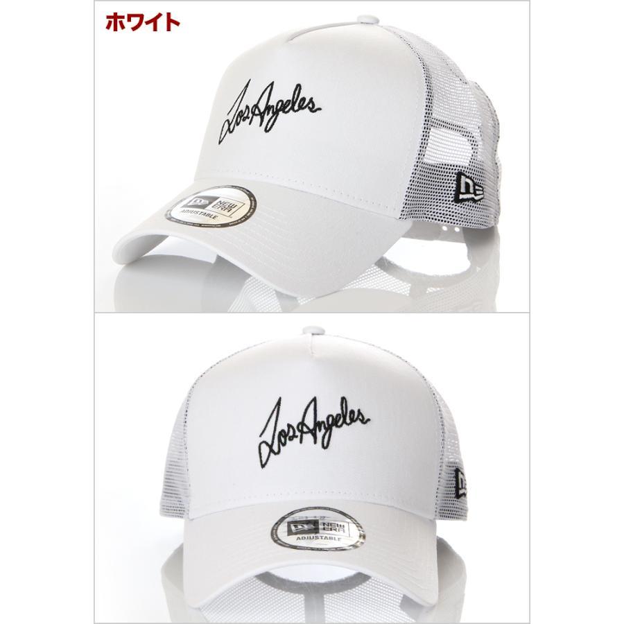 ニューエラ メッシュキャップ 帽子 メンズ レディース キャップ NEW ERA NY LA スナップバック CAP ニューヨーク ロサンゼルス ブランド 黒 紺 デニム 迷彩 白|spark|06
