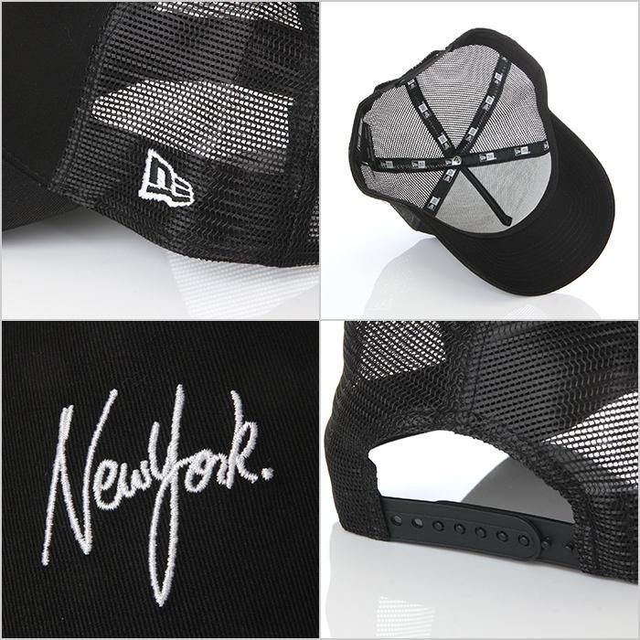 ニューエラ メッシュキャップ 帽子 メンズ レディース キャップ NEW ERA NY LA スナップバック CAP ニューヨーク ロサンゼルス ブランド 黒 紺 デニム 迷彩 白|spark|09