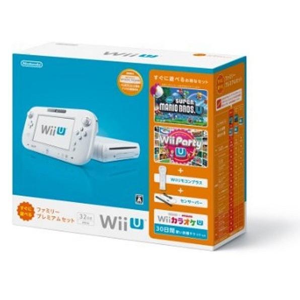 【新品】【即納】Wii U すぐに遊べるファミリープレミアムセット(シロ) (メーカー生産終了)