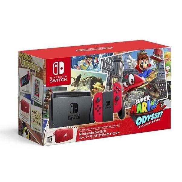 【新品】【即納】Nintendo Switch スーパーマリオ オデッセイセット スイッチ 任天堂