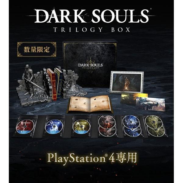 【新品】【即納】PS4 DARK SOULS TRILOGY BOX(ダークソウル トリロジーボックス)【数量限定特典】「上級騎士バストアップフィギュア」