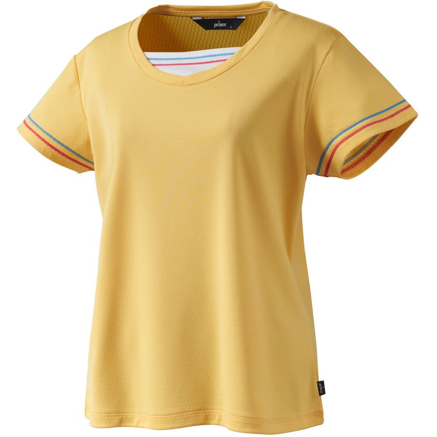 Prince(プリンス) ゲームシャツ WL9066 YEL