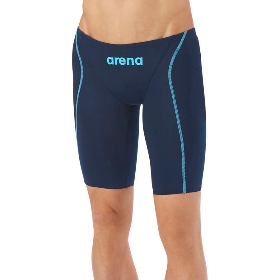 ARENA(アリーナ) 【メンズ 競泳用水着(Fina承認)】 ハーフスパッツ X−パイソン2 ARN7022M ネイビー