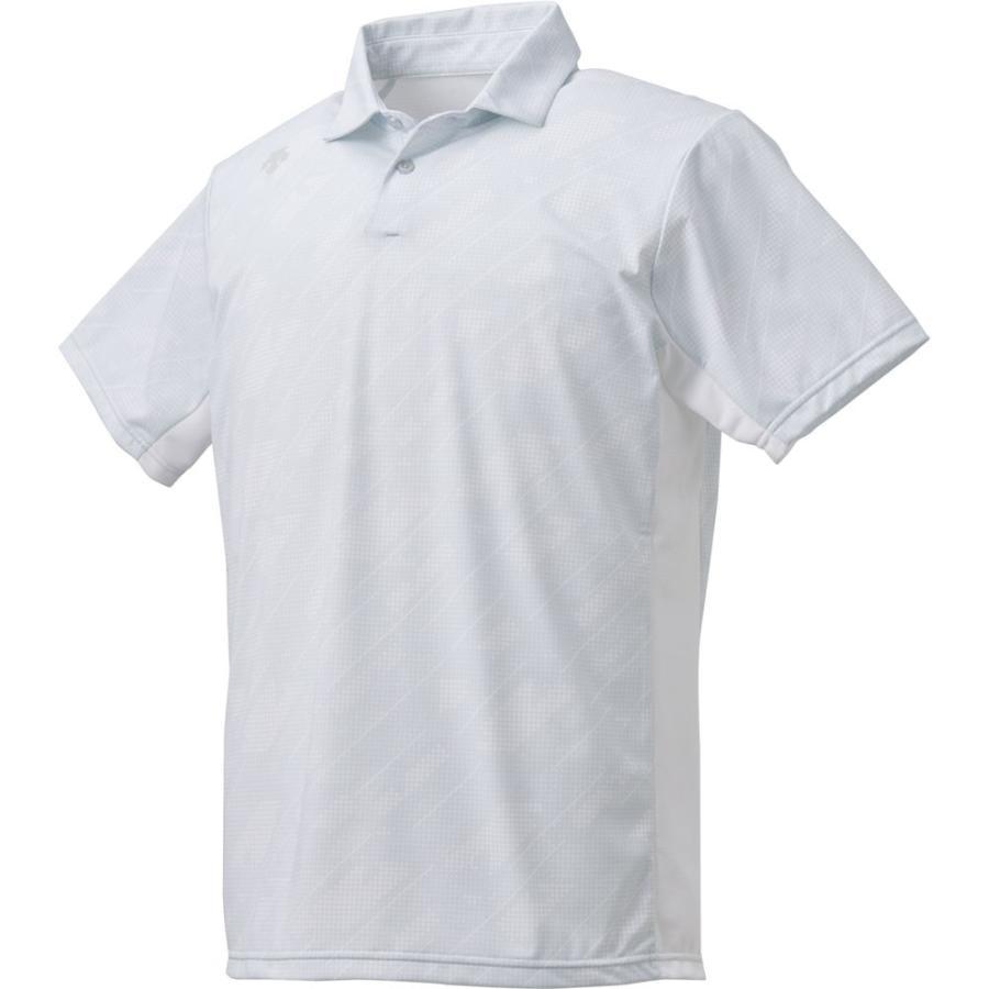 デサント(DESCENTE) サンスクリーン ポロシャツ DMMNJA73 WH