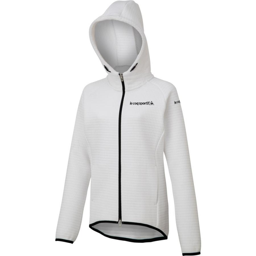 le coq sportif(ルコック) アウタージャケット レディース QTWOJK02 ホワイト