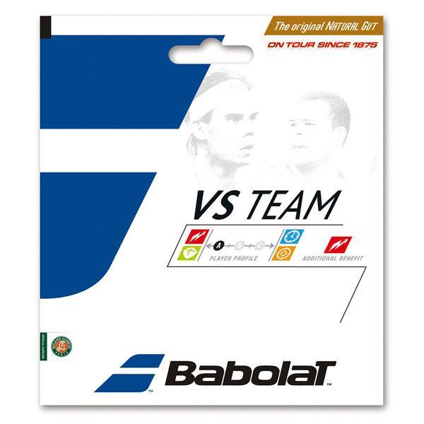 Babolat(バボラ) VSチーム 125 硬式テニス用ガット・ストリングス BA201024