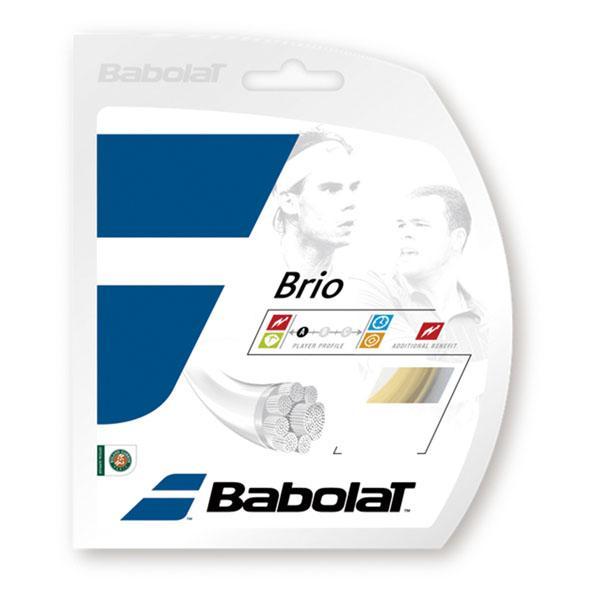 Babolat(バボラ) ブリオ ロールタイプ200m 125/130/135 硬式テニス用ガット・ストリング BA243118 ナチユラ