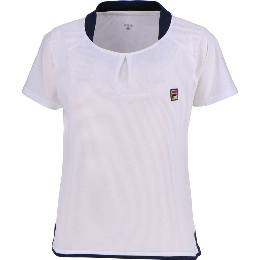 FILA(フィラ) ゲームシャツ レディース VL1944 ホワイト