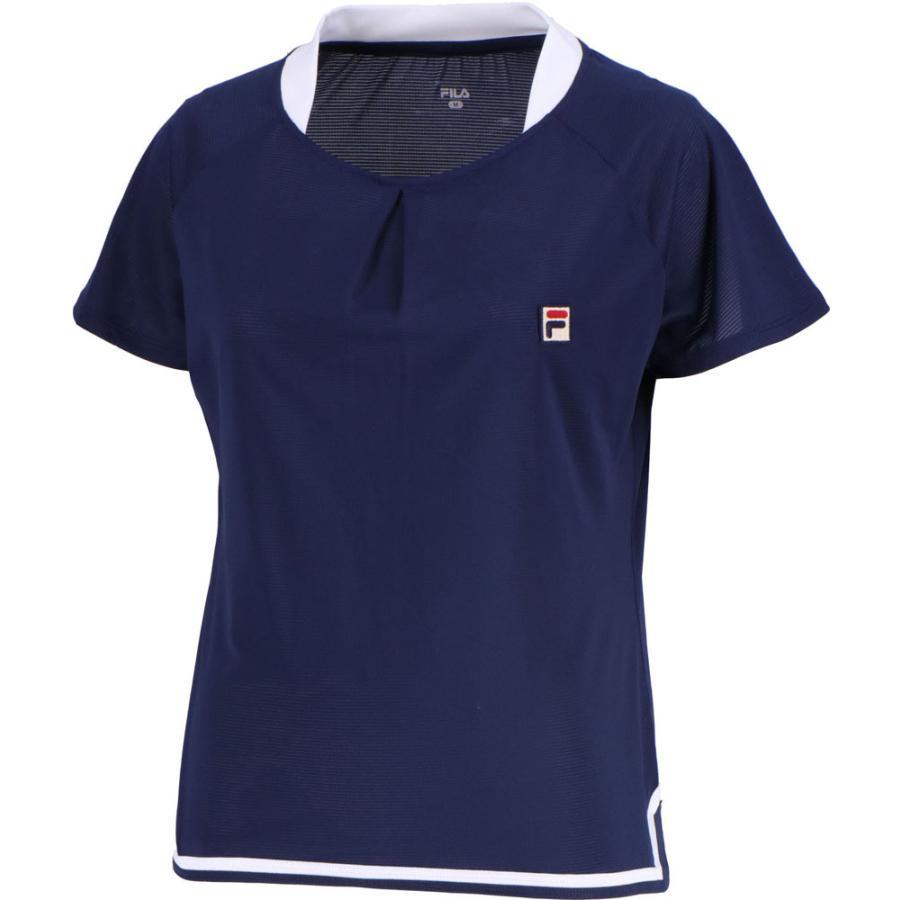 FILA(フィラ) ゲームシャツ レディース VL1944 フィラネイビー