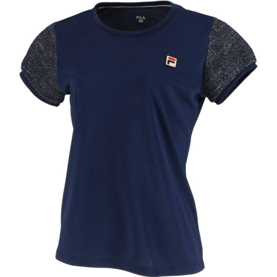 FILA(フィラ) ゲームシャツ レディース VL2018 フィラネイビー