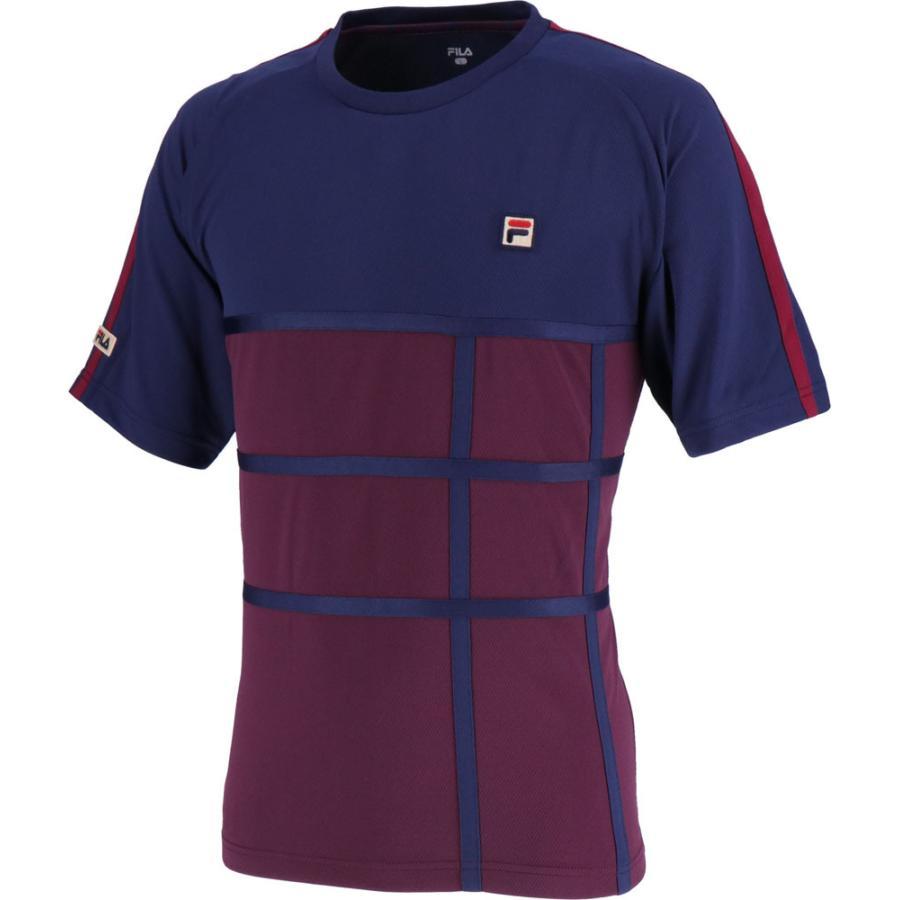 FILA(フィラ) ゲームシャツ VM5378 ポテントパープル