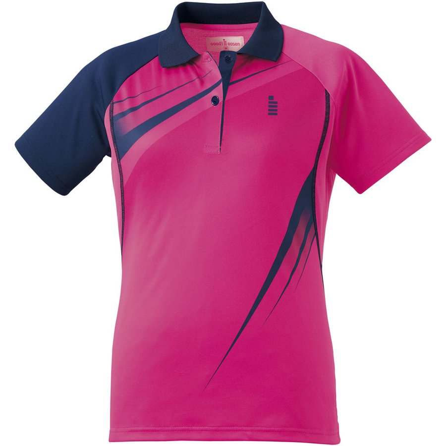 GOSEN(ゴーセン) LADIES' ゲームシャツ T1601 ピンク