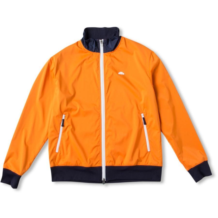 Ellesse(エレッセ) ウィンドジャケット EM59103 Sオレンジ
