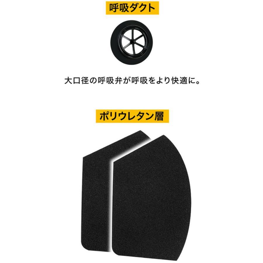 アクティバイタル 排気ダクト付き ウレタンマスク ダクトマスク ブラック 感染予防 飛沫防止 風邪 spg-sports 07