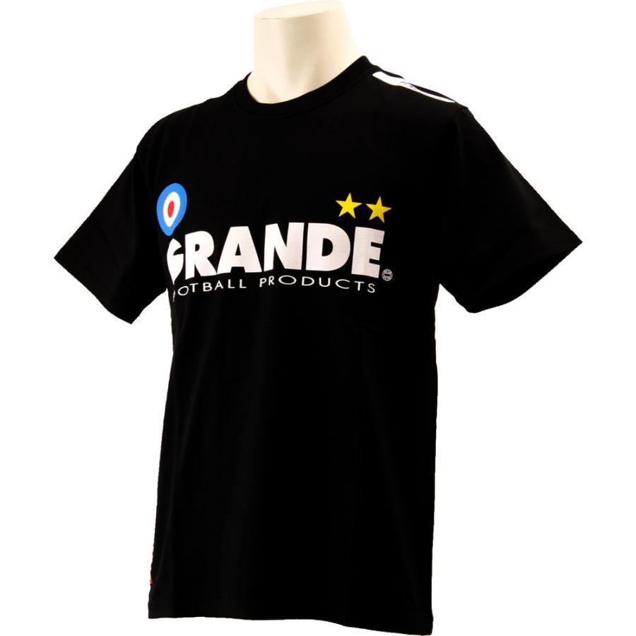 GRANDE(グランデ) プロトタイプ Tシャツ GFP00004 BLK/WHT