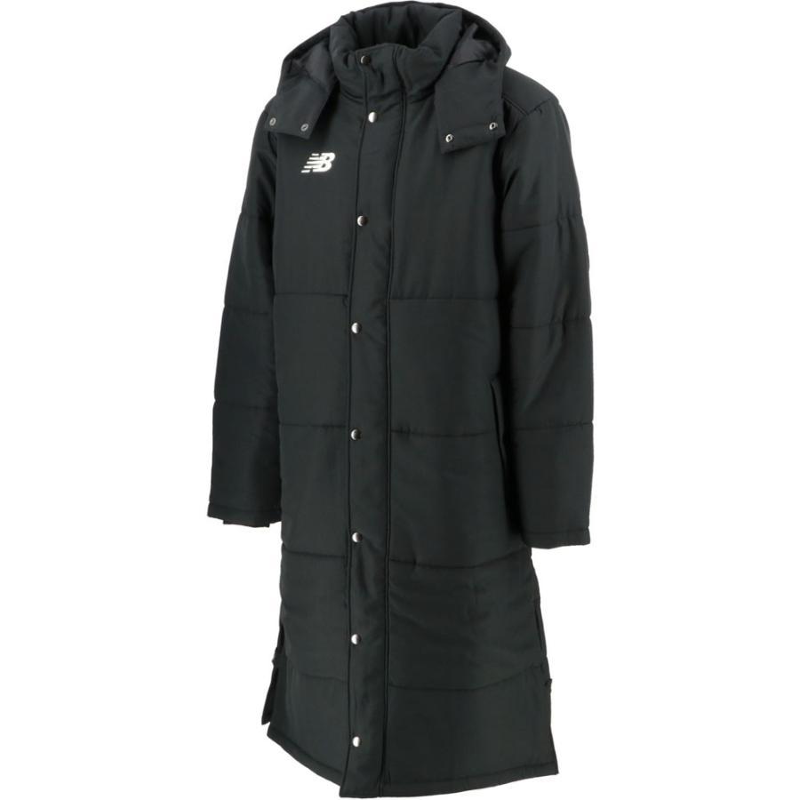 new balance(ニューバランス) ロングパテッドコート 男女兼用 ユニセックス JMJF8986 ブラック
