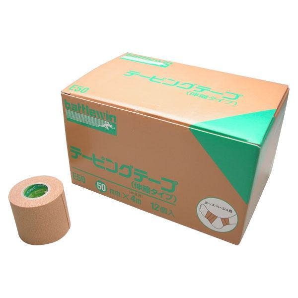 ニチバン Eタイプ(伸縮) 50mm 12ロール E50