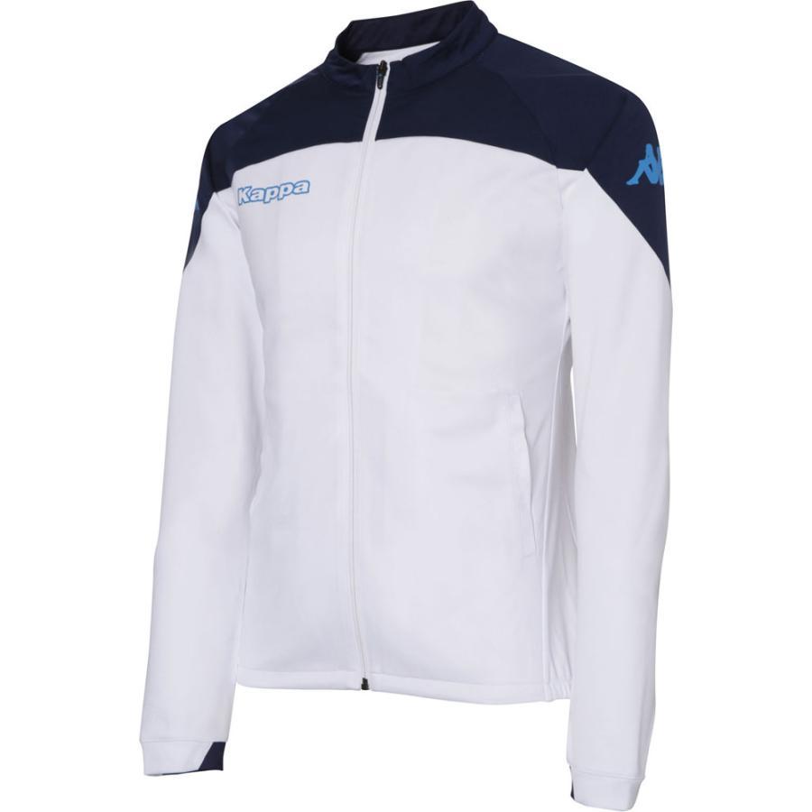 Kappa(カッパ) トレーニングジャケット メンズ サッカー・フットサルウェア KF752KT11 ホワイト