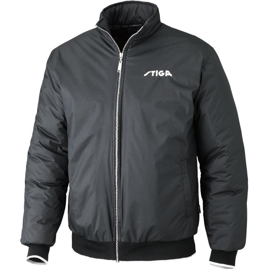 STIGA(スティガ) 卓球アウター SEASON JACKET シーズンジャケット ブラック 4XS 1862190100