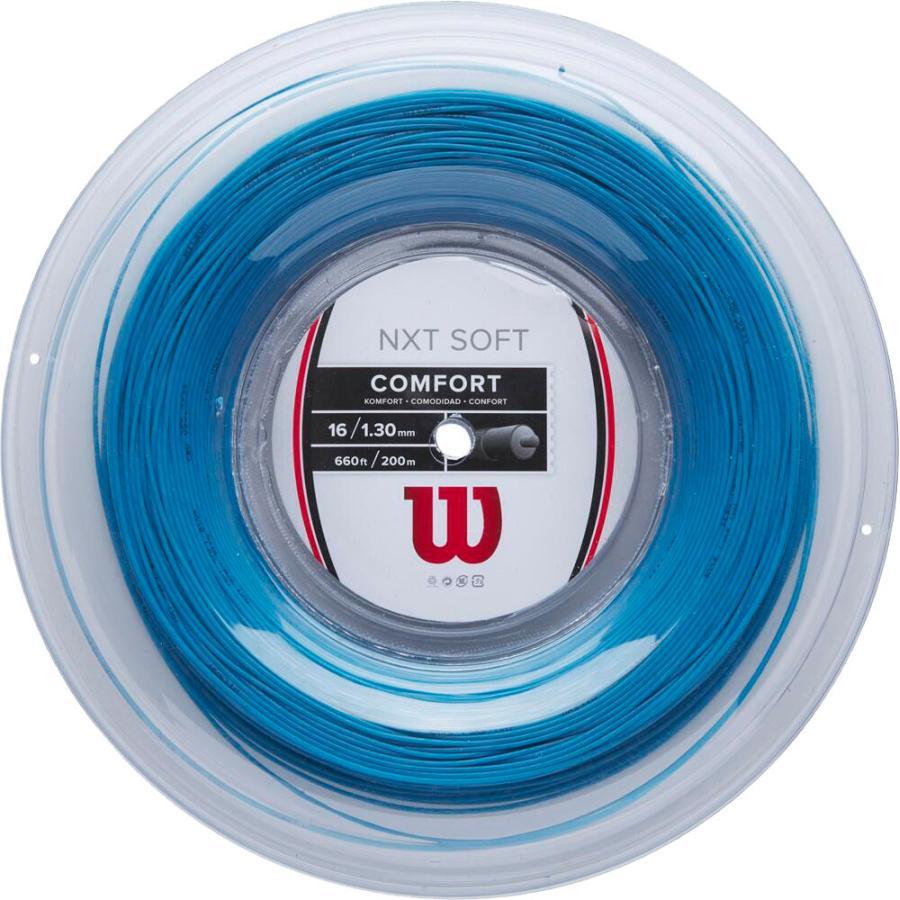 Wilson ウイルソン  テニスストリングス NXT SOFT 16 BLUE REEL WR8305202