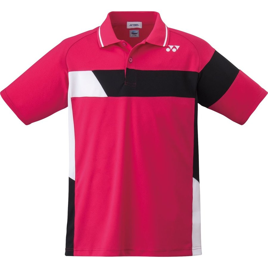 Yonex(ヨネックス) 【男女兼用 テニス・バドミントンウェア】 UNI ポロシャツ 10211 ダークピンク