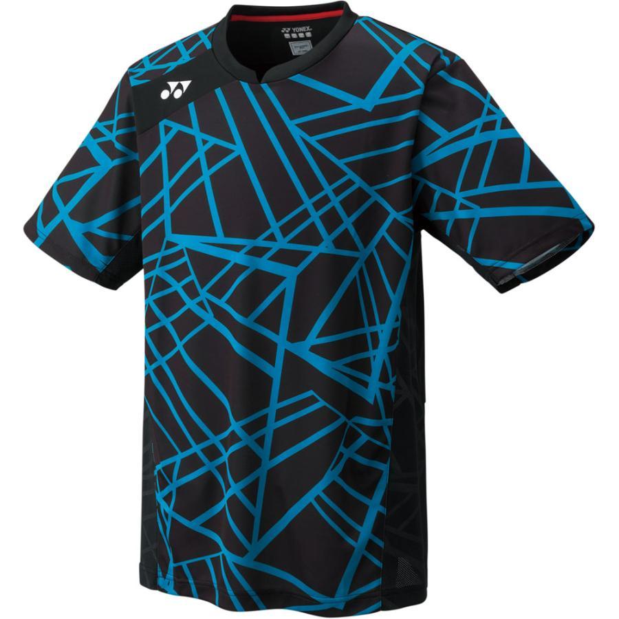 Yonex(ヨネックス) ゲームシャツ(フィットスタイル)メンズ 10236 ブラック