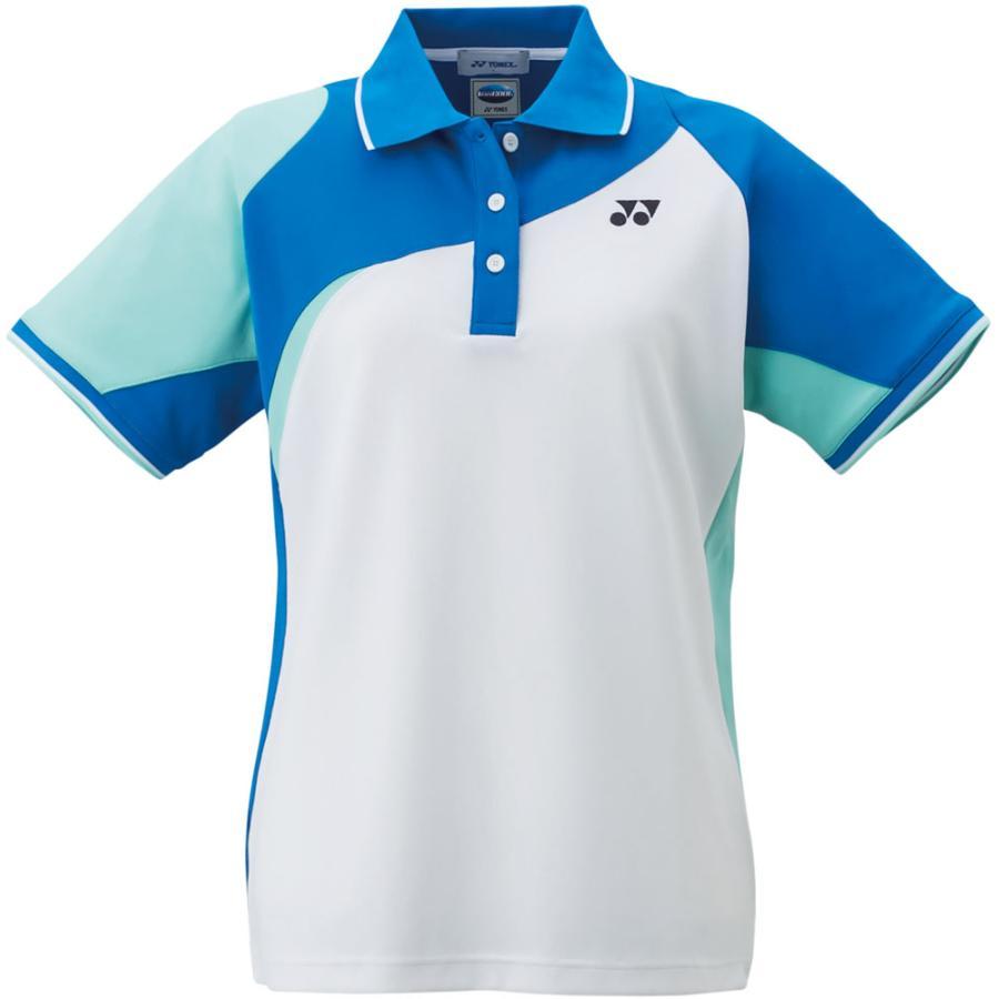 Yonex(ヨネックス) ゲームシャツ チームウェア レディース 20434 ホワイト/ブルー