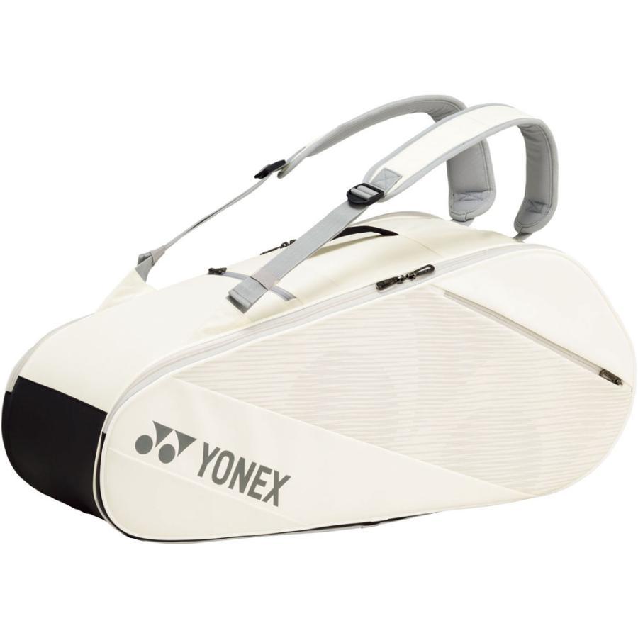 Yonex ヨネックス  ラケットバッグ6 テニス6本用 BAG2012R ホワイト spg-sports