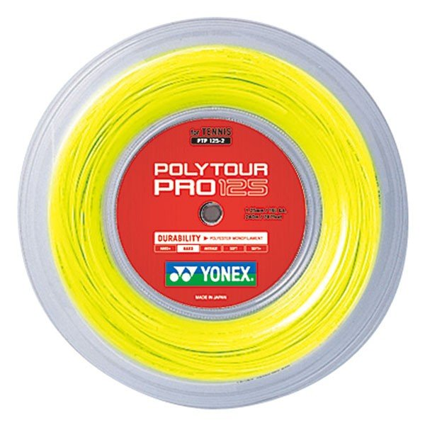 品質が Yonex(ヨネックス) PTP1252 ポリツアープロ125(240m) PTP1252 フラッシュイエロー, スプリング カントリー ハウス:997bd6ad --- airmodconsu.dominiotemporario.com