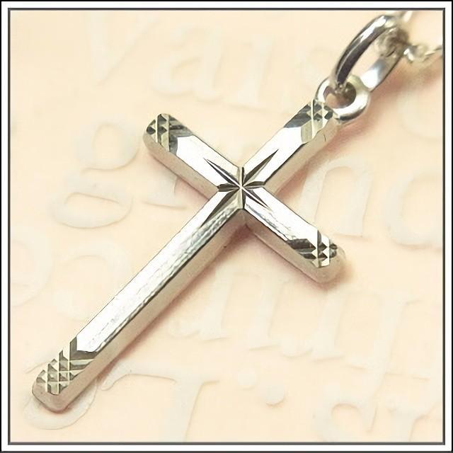 シルバー925 エトワールカットのクロス 十字架 フランス教会正規品  SV925 ペンダント トップ ヘッド チャーム ネックレス SV925|spica-france|02