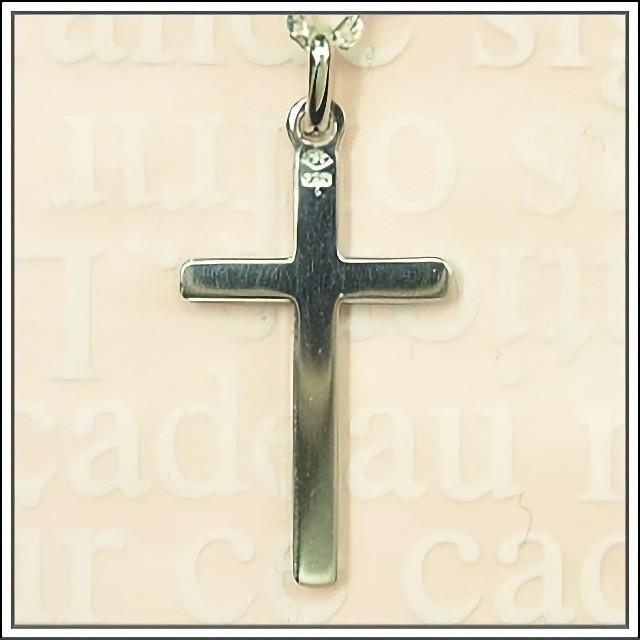 シルバー925 エトワールカットのクロス 十字架 フランス教会正規品  SV925 ペンダント トップ ヘッド チャーム ネックレス SV925|spica-france|03