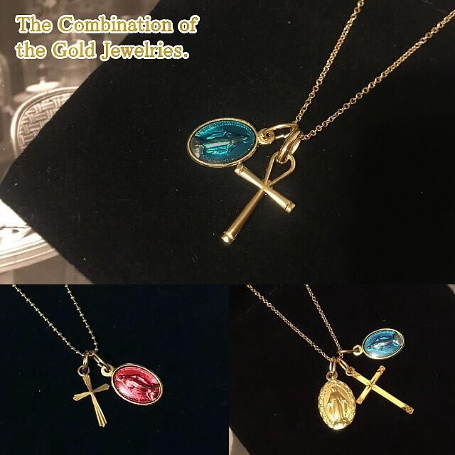 Sサイズ 金色カラー不思議のメダイ 奇跡のメダイユ フランス教会正規品 本物 聖母 マリア ペンダント トップ ヘッド メダル ゴールド ネックレス|spica-france|09