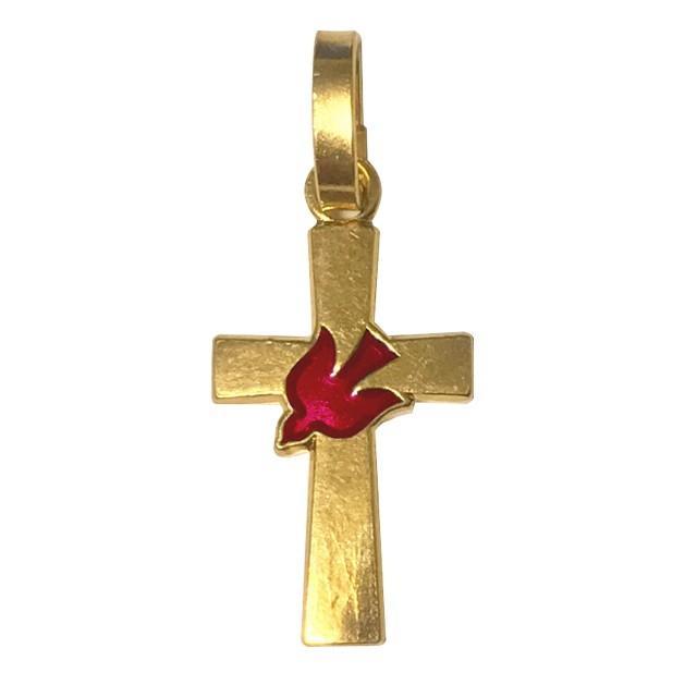 平和の鳩ミニクロス 十字架 パリ サクレクール寺院正規品 フランス教会 ゴールド シルバー ペンダント トップ ヘッド ネックレス 鳥 バード spica-france 14
