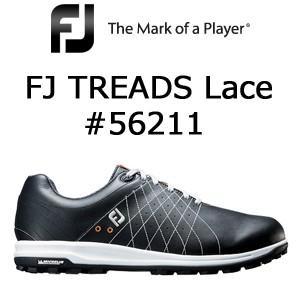 FOOTJOY フットジョイ FJ TREADS Lace #56211 ブラック (2018年3月発売)