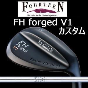 (特注カスタム) フォーティーン FH forged V1 マットブラック仕上げ N.S.PRO 950GH HT(日本シャフト社製)(2018年2月上旬発売)