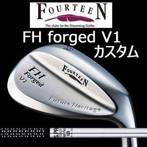 (特注カスタム) フォーティーン FH forged V1 ニッケルクロムメッキ・パールサテン仕上げ N.S.PRO 750GH(日本シャフト社製)