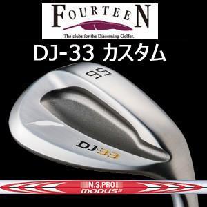 【カスタム特注仕様品】FOURTEEN フォーティーン DJ-33 ニッケルクロムメッキ・パールサテン仕上げN.S.PRO MODUS3 TOUR120(NSプロモーダス3 ツアー120)