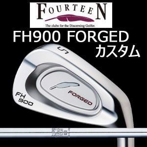 【カスタム特注仕様品】 FOURTEEN フォーティーンFH900 FORGED #5〜PW 6本組 NSPRO 1150GH TOUR (日本シャフト社製)