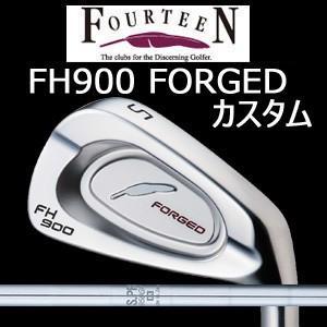 【カスタム特注仕様品】 FOURTEEN フォーティーンFH900 FORGED #5〜PW 6本組 NSPRO 950GH (日本シャフト社製)