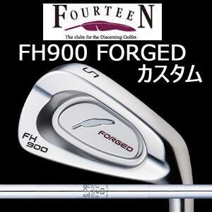 【カスタム特注仕様品】 FOURTEEN フォーティーンFH900 FORGED #5〜PW 6本組 N.S.PRO 950GH HT (日本シャフト社製)